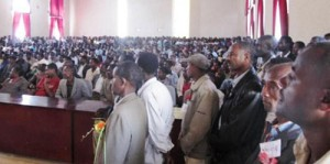 Ethiopian Democratic Party - Aleta Wondo Public Meeting, April 25th, 2010