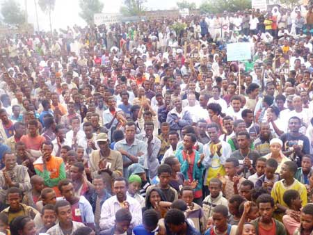 Ethiopian Democratic Party - Lalibela Public Meeting