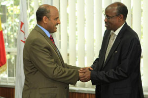 Ethiopian signed MoU with D
