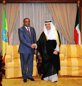 Prime ministers of Ethiopia and KUWAIT