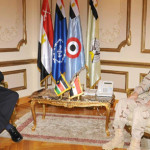Al-Sisi meets with South Sudanese Defence Minister