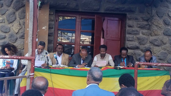 Press release by Ethiopian opposition parties
