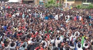 Protest in Ethiopia